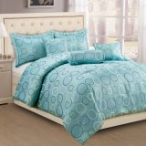 Yarn Dyed Jacquard Woven. 6 PC Bedding Sets