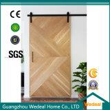 Customize Veneer MDF Sliding Barn Door with Hardware