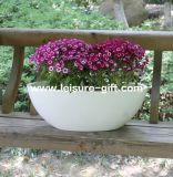 Fo-270 Bowl Decorative Fiber Glass Garden Flower Planter