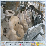 Various Hand Carved Granite Stone Furniture for Outdoor Garden