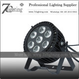 Waterproof Lighting Fixture 7X15W LED PAR RGBWA Stage Lighting