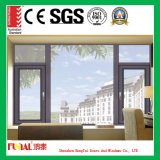 Customized Color Double Tempered Glass Aluminum Casement Window