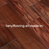 Solid Wood Flooring with Handscraped Finish (LY-XSKKS01)