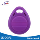 New Product Lf 125kHz Tk4100 RFID Keychain for Access Control
