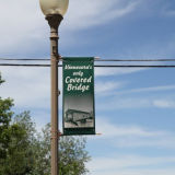 Spring Loaded Street Pole Advertising Banner Flag Holder (BT30)