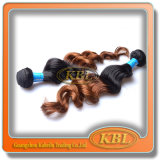 Two Tone Color of 5A Brazilian Hair Best Quality
