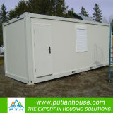 Container Home Used as Public Toilet