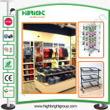 Retail Store Fashion Design Display Shelf and Tables