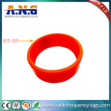 Waterproof Silicon RFID Bracelets / NFC Wristbands for Swimming Pool