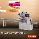 PLC Controller Automatic Flow Small Potato Chips Packing Machine
