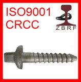 Nf Sleeper Screw, Rail Fastener, Railway Accessorie