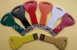 Colorful Metal Key USB Flash Drive with Logo Printing (FYD-U024)