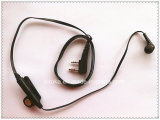Earphone for Two Way Radio with Noodle-Shape