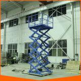 Electric Lifting Equipment Vertical Work Platform Scissor Lift Elevator Ce