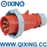 Cee 5pins Industrial Plug&Socket Industrial Coupler IP67 16A 32A Waterproof Plastic Electrical Plug&Socket&Connector
