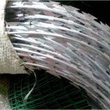 Hot Galvanized Razor Blade Wire Coil