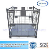 Metal Foldable Cage Pallet / Stacking Stillage Container