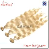 K. S Wigs High Recommend Blonde Color U Tip Keratin Hair