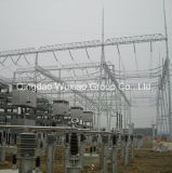 Electric Power Supply Substation Steel Construction