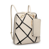 2017 Most Fashion Leather Women Backpack with Coin Purse