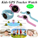 Hot Selling Kids GPS Tracker Watch with Flashlight (D14)