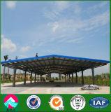 Light Steel Structure Prefab Car Shed