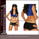 Sexy Cosplay Beat Cop Police Halloween Costume for Women (8813)