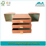 Custom Elegant Cardboard Printed Gift Jewelry Drawer Paper Box