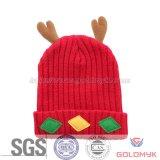 Deer Design Children Winter Knitted Hat