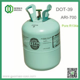 Refrigerant R134A in DOT-39 Non-Refillable Steel Gas Cylinder