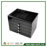 High Gloss View Top Jewelry Wooden Storage Box