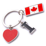New Custom Metal Souvenir Canada Keyring