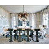 New Design Wooden Furniture Dining Room Set for Hotel Restaurant