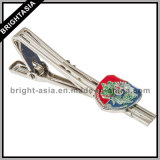 Custom Tie Clip with Your Design with Silver Plating (BYH-101030)
