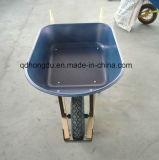 Steel Tray Pneumatic Tyre Wheel Barrow (WB6401)