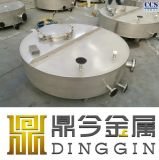 Ss304 Stainless Steel Round Containers