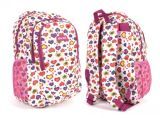 Fashion 600d Heart Printed Backpack