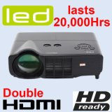 LED Projector with Android, WiFi, HDMI, USB (X500)