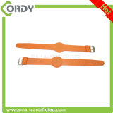 Waterproof adjustable TK4100 braacelet 125kHz RFID wristband