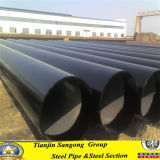 ERW Q195 Black Welded Round Steel Pipe