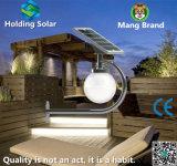 Solar LED Moon Wall Light with Monocrystalline Solar Panel