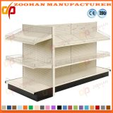 Island Gondola Shelf Supermarket Pegboard Shop Hooks Display Shelving (Zhs337)