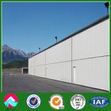 New Design Steel Structure for Aircraft Hanger Shed