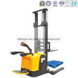 Rider Type Straddle Electric Stacker