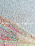 Colored Yarn-Dye French Terry Melange Sweater CVC Knitting Fabric