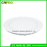 No Flicker Laser Super Thin 24W Round LED Panel Light with 3 Years Warranty