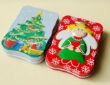 Christmas Tree Angel Tin Boxes of Wave Form
