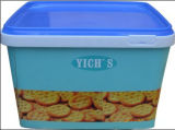Cool Baby Cookie Container Box in Mold Label Iml Film