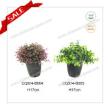 H10-18cm Wholesale Artificial Indoor Grass Plant Type Pot Flower