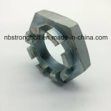 DIN937 Hex Slotted Nuts Zp